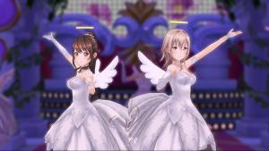 ときめきアイドル天使の羽根とわっか 小幸村と春子さん