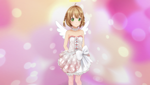 ときめきアイドル天使の羽根とわっか みさきさん