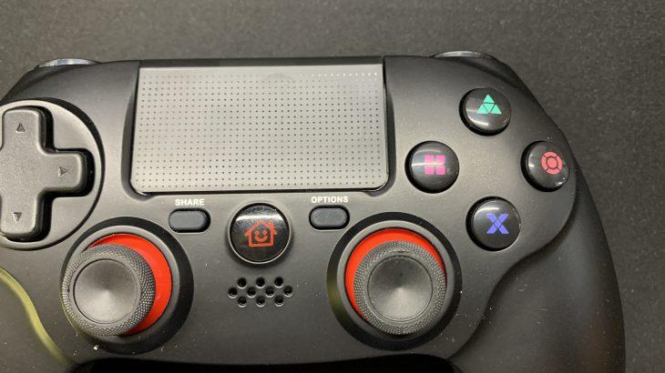 DualShock4互換コントローラーを買ってみた